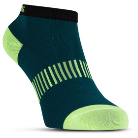 Salming Performance Ankle Socks 3 Pack teal/yellow/red
